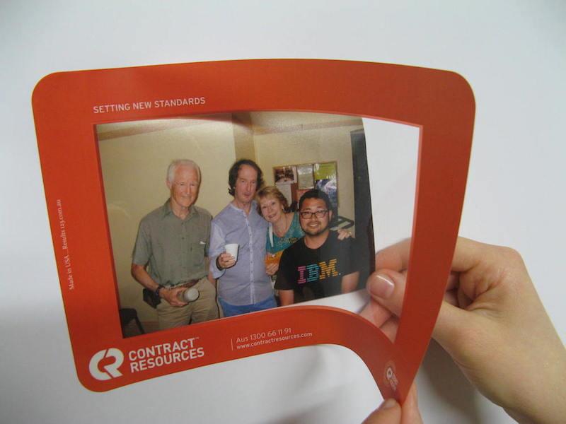 Promotional Photo frames - Peel & Stick