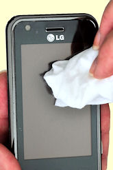 Towelettes for Phone Cleaning